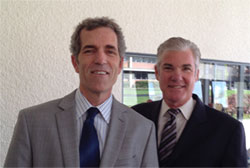 John and State Superintendent of Public Instruction Tom Torlakson